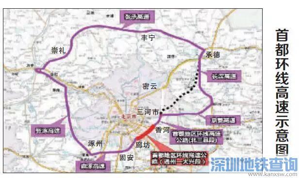 """首都环线高速""""通州—大兴段""""6月30日具备通车条件"""