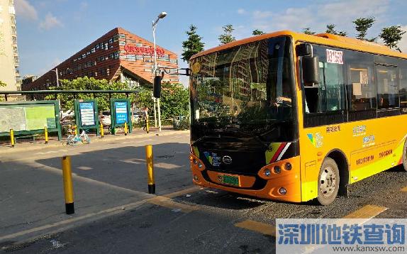 深圳公交B978路开通(票价、运营时间 站点)