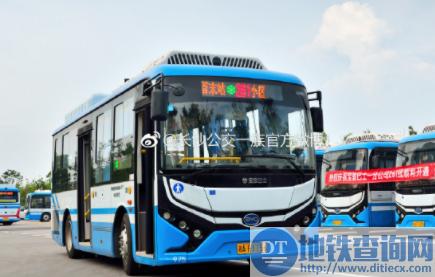 长沙公交261路线开通 潇湘大道停车场―白田小区 附首末班车运营时间票价停靠站点