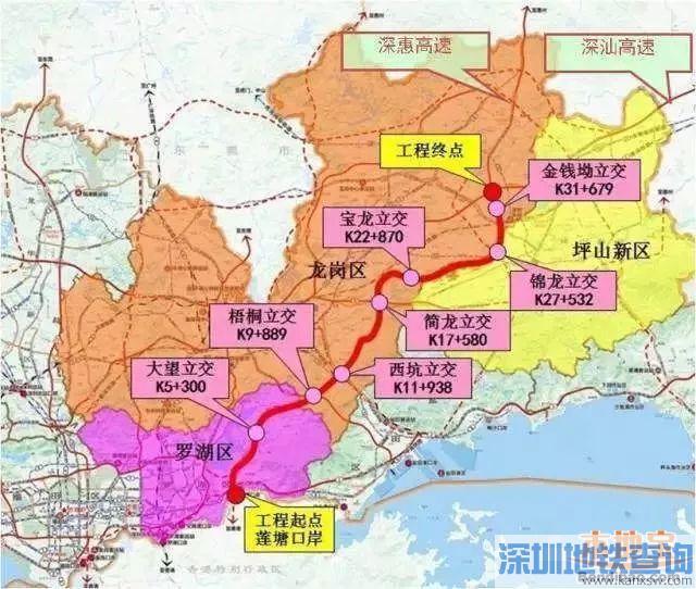 深圳东部过境高速最新工程进展公布 年底就建成免费通车