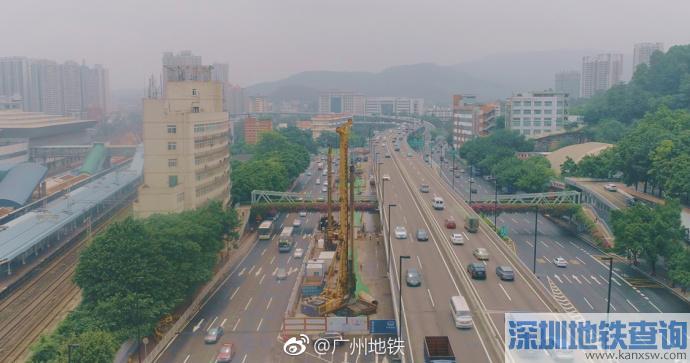 广州地铁11号线2018年8月最新进展:17座开始土建施工