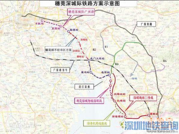 穗莞深城轨全线隧道近日顺利贯通 2018年底进行静态验收