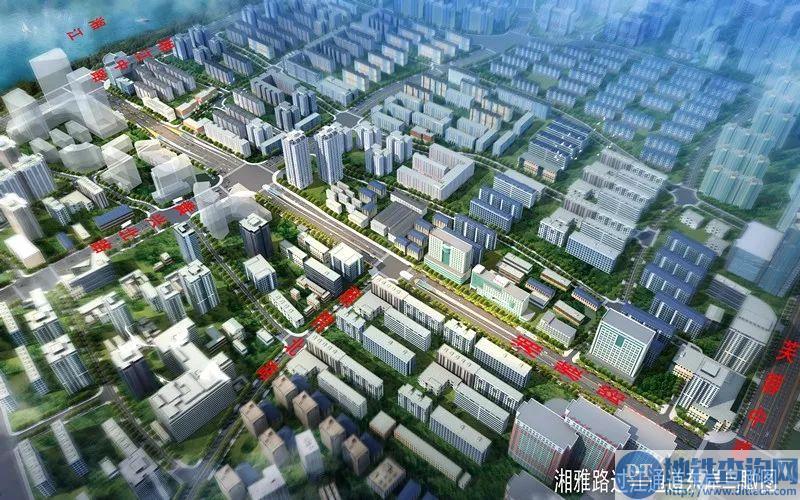 湘雅路过江通道初步设计方案出炉