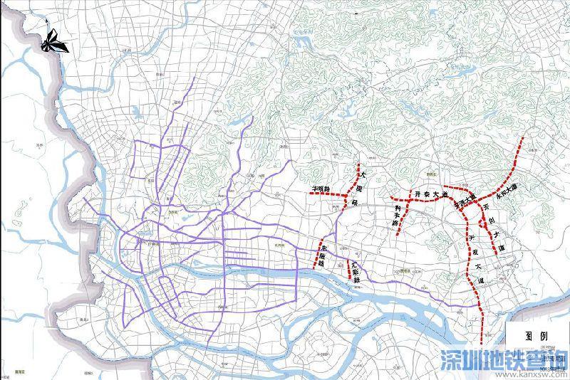 2018年8月15日起广州100公里公交专用道正式启用