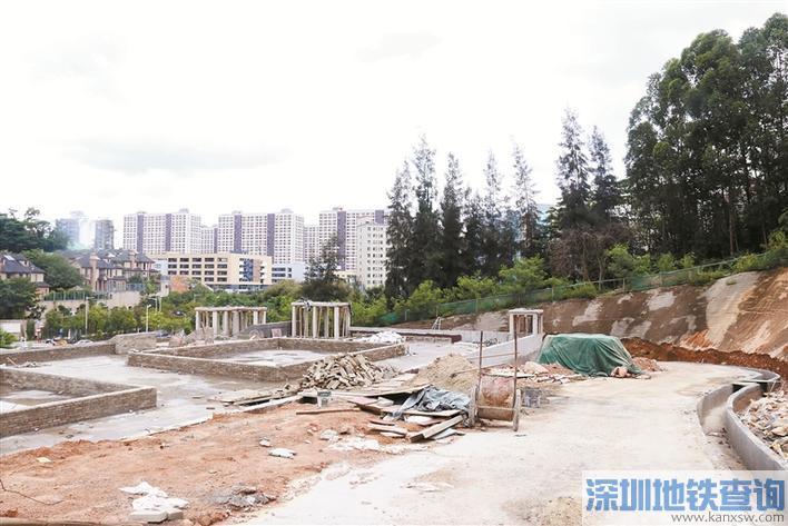深圳白石龙音乐公园什么时间竣工开放?