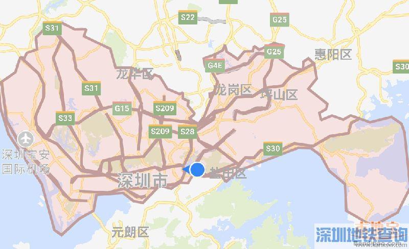 2018深圳外地车免限行通行证申请网址多少?