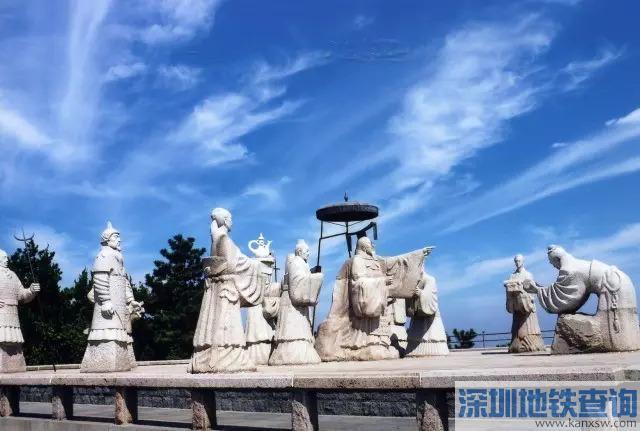 青岛地铁13号线年底开通在即 沿途各站美丽风景一览