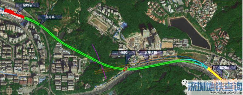 深圳地铁6号线最长矿山法隧道近日贯通 二期工程首个贯通区间