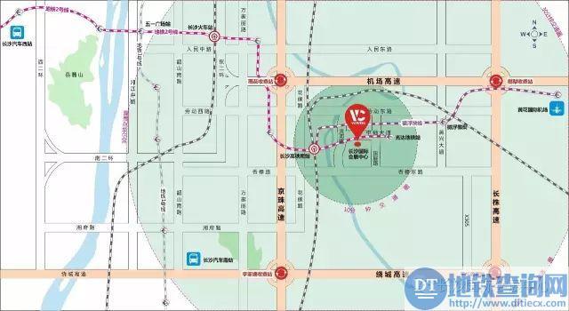 长沙国际会展中心地址在哪?坐公交地铁自驾怎么去?