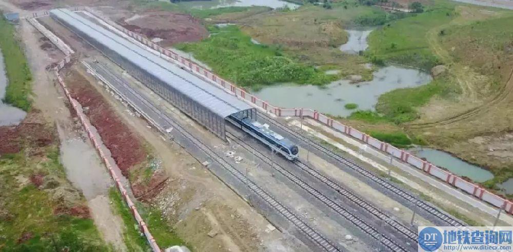 长沙地铁4号线预计2018年底通车试运行 2019年5月前实现载客