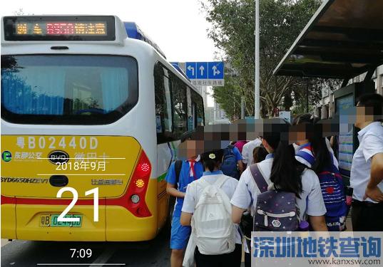 深圳公交B950、B951路调整详情孩子上学坐车更方便