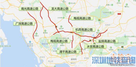 深圳2018年十一国庆出行拥堵路段时间段一览(高速+枢纽口岸+景区)
