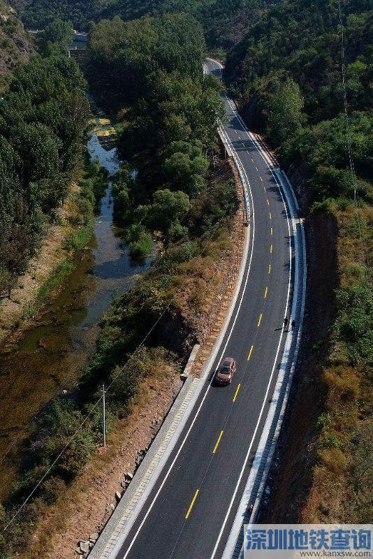 密云区马北路改建工程9月底建成通车