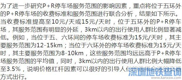 北京p r停车场收费标准及使用情况调查及分析