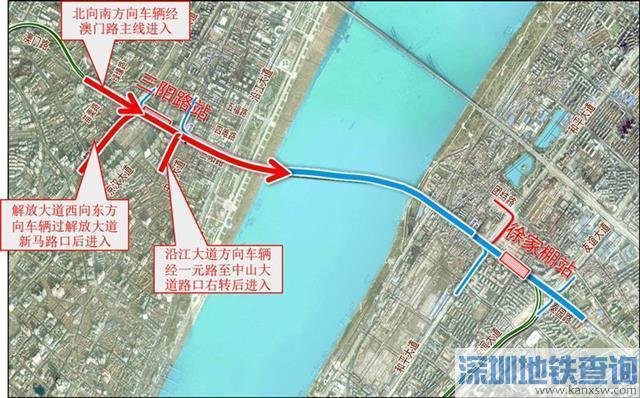 武汉长江公铁隧道明日通车