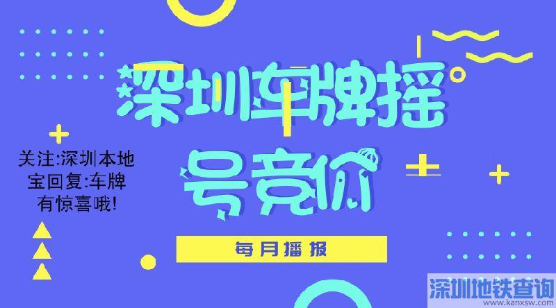 深圳2019年第1期车牌摇号竞价指标数量公布 仅6668个
