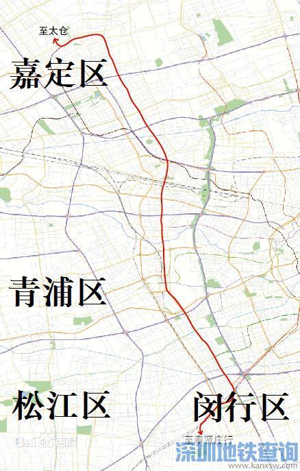 上海轨交嘉闵线线路走向已明确将对接江苏城际铁路 有望为11号线分流