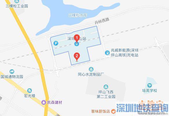 深圳坪山站2019春运加开临客列车动车车次、发车时间一览
