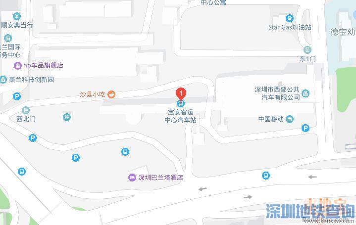 宝安客运中心2019春运期间增开8条汽车班车线路