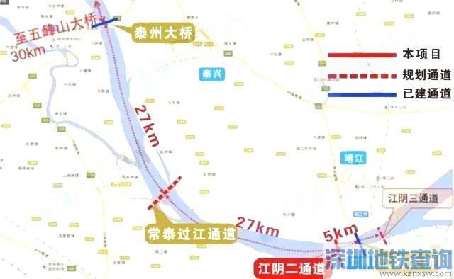 江阴第二过江通道规划详情