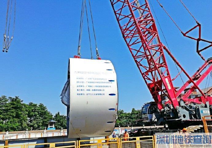 广州地铁7号线西延段2019年11月最新进展 土建完成47%