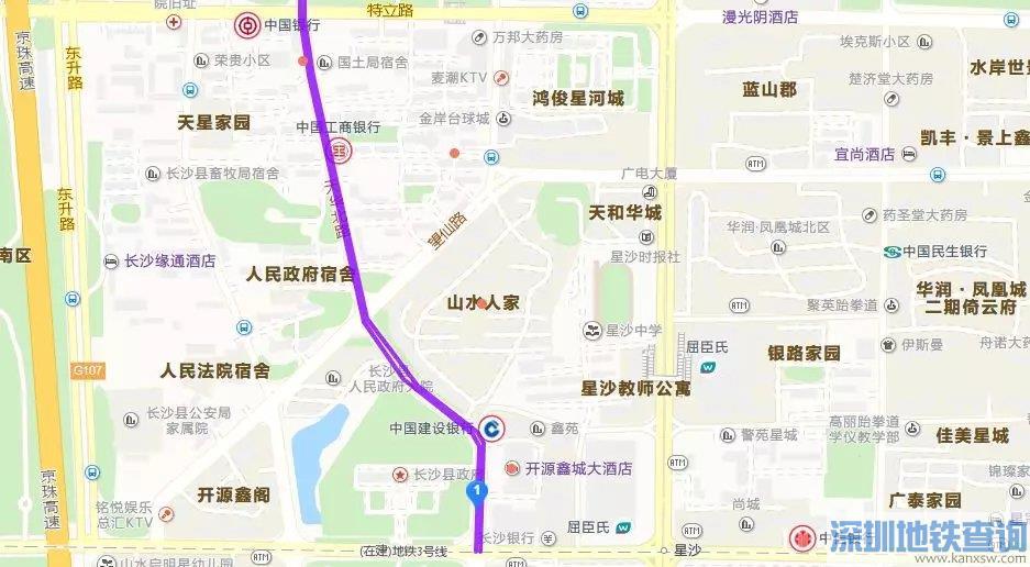 星沙城区天华北路11月7日起封闭时段一览
