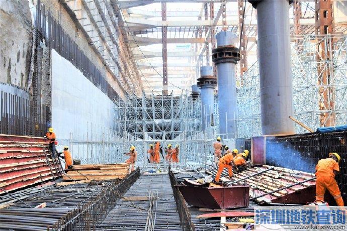 2019年11月广州地铁22号线最新进展 土建完成32%