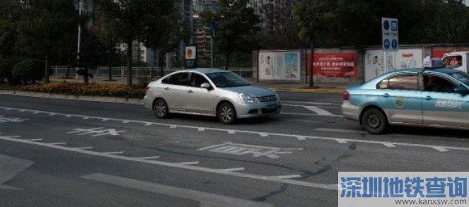 长沙潇湘大道咸嘉湖路口可变车道 附长沙22条可变车道名单