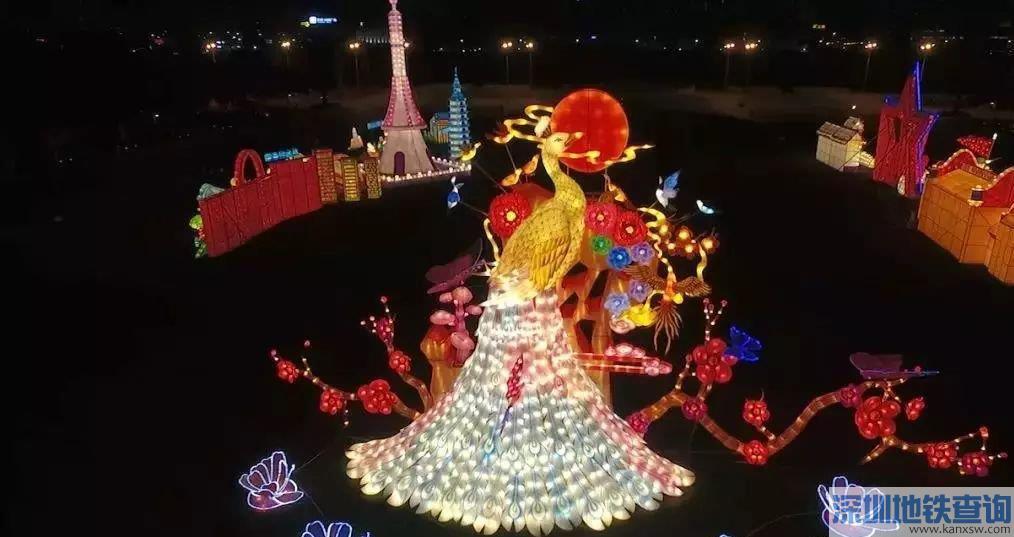 2019广州从化灯光节在哪里举行什么时间?坐公交如何去?