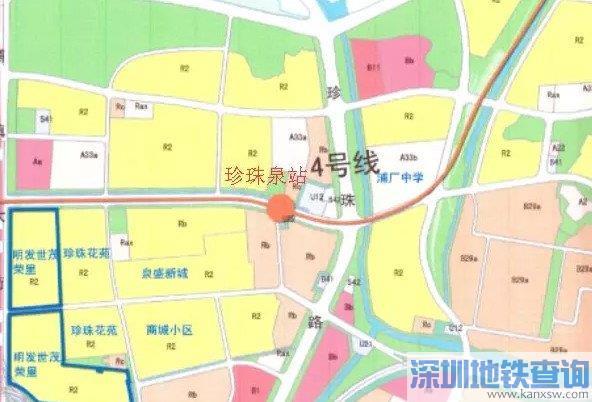 南京地铁4号线二期规划站点具体位置、图解