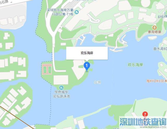 2019深圳欢乐灯会举办时间地点在哪里?附近公交站有哪些?附近有地铁站吗?