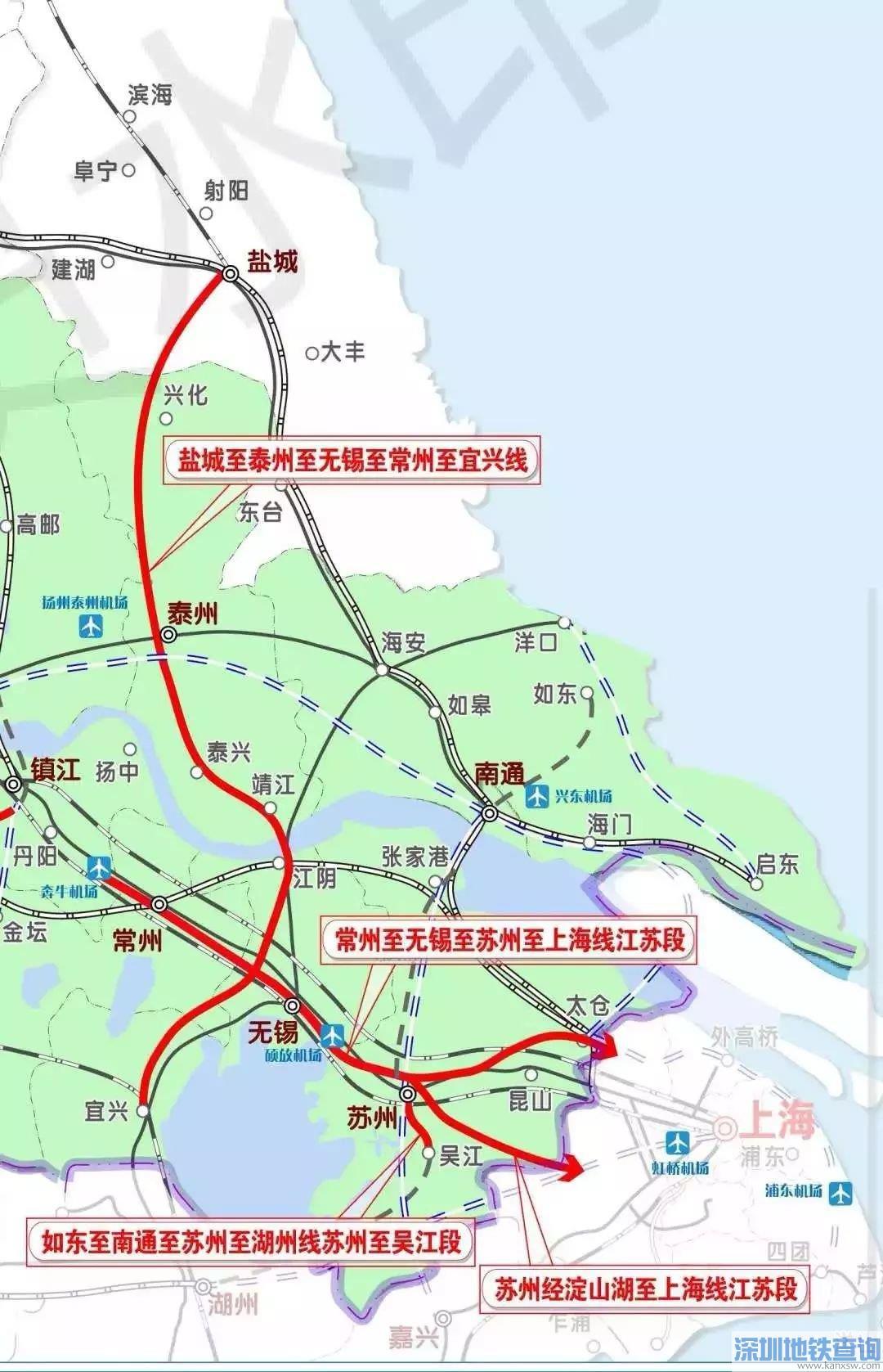 苏锡常快线无锡段最新规划图
