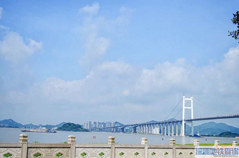 2019年8月2日-8月15日虎门大桥临时交通管制绕行指南