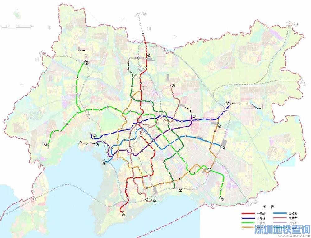 无锡地铁6号线换乘站点有哪些?附最新站点规划详情