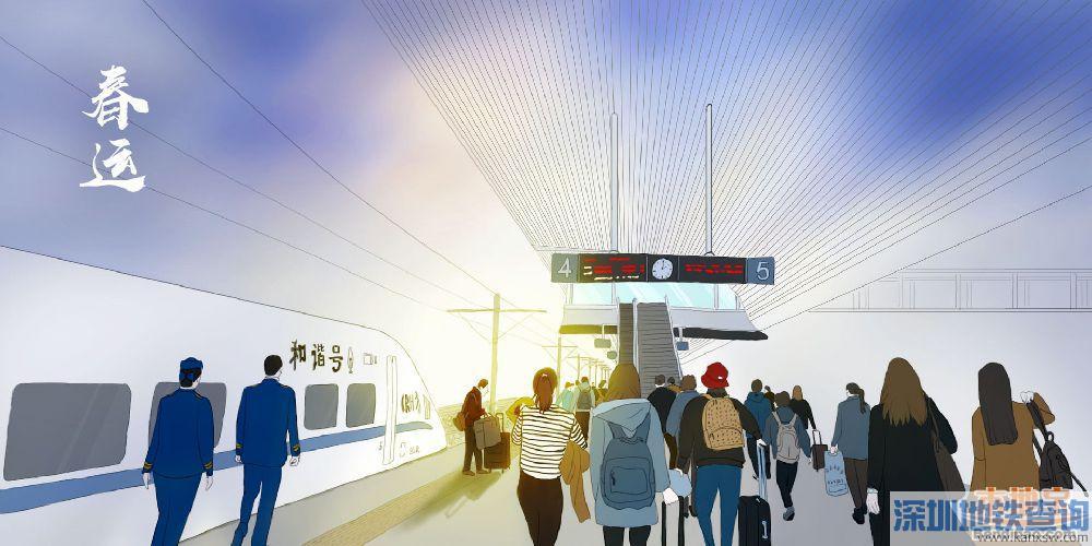 2019春运返程高峰期时间预计出现在2月9日~2月10日