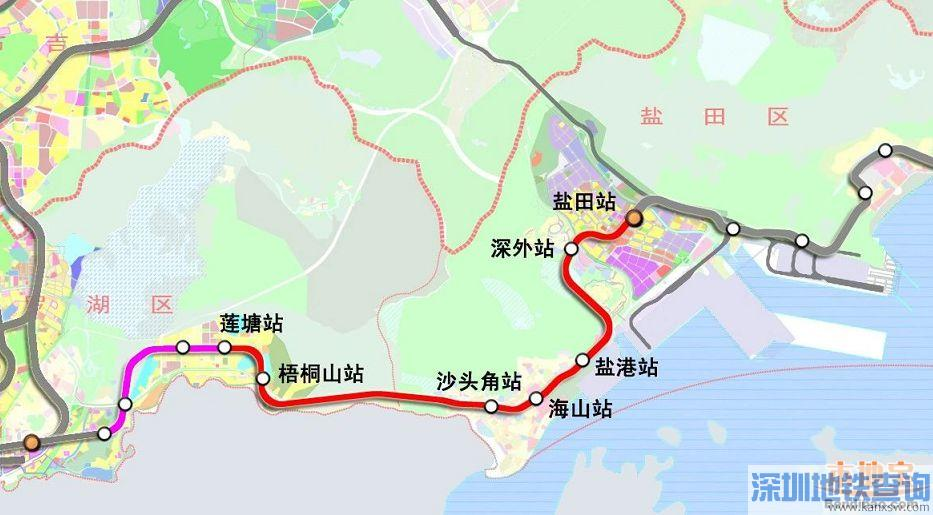 深圳地铁8号盐深区间近日双线顺利贯通 3期工程最长的矿山法隧道