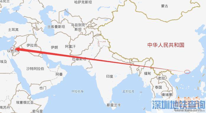 深圳直飞以色列航线近日开通 附航班号起飞时间票价