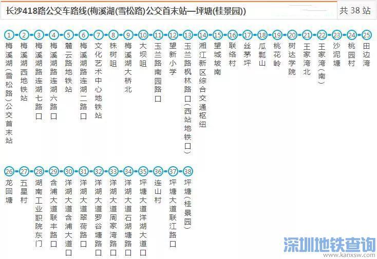 长沙新增2条公交线 直达大王山旅游区