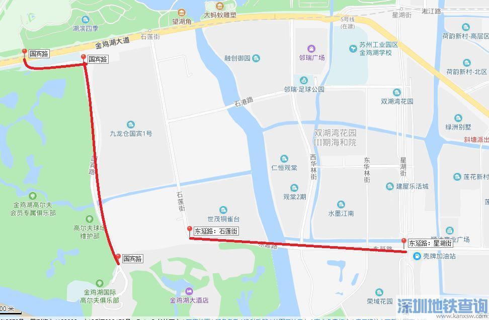 苏州工业园区实施阶段性严管措施的路段一览