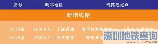 2019苏州省际、市际、县际毗邻公交线路汇总一览