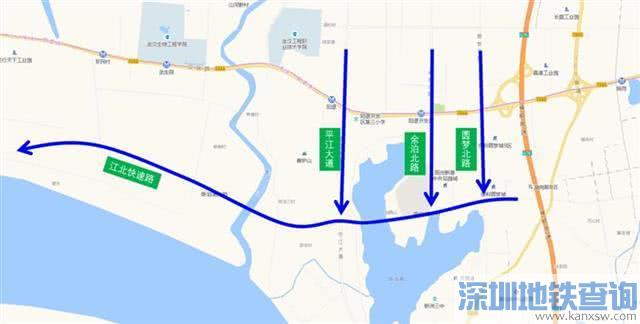 汉施公路新河大桥至军民村今起施工