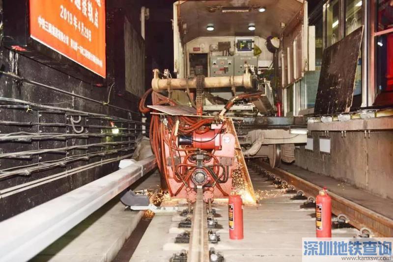 青岛地铁2号线西段近日实现轨通