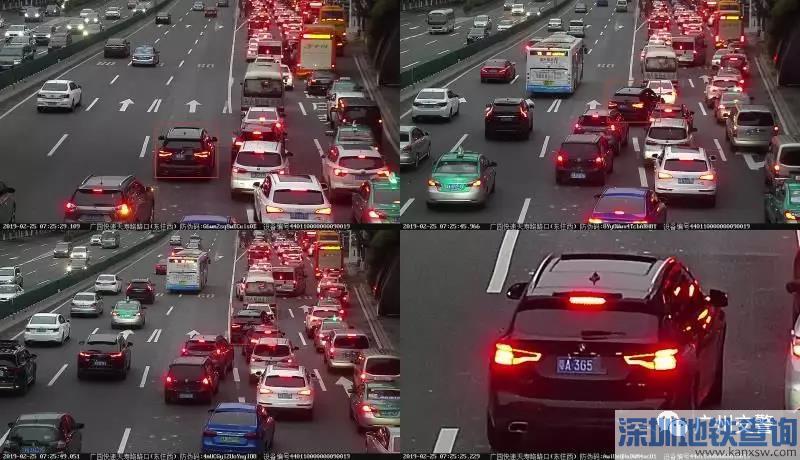 2019广州交警再启用9套智慧电警附具体分布位置一览 1个月抓拍违章6300多宗