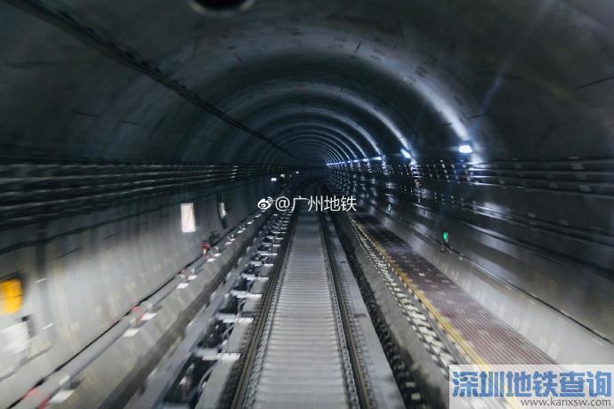 2019年4月广州地铁21号线二期最新进度 土建完成88%