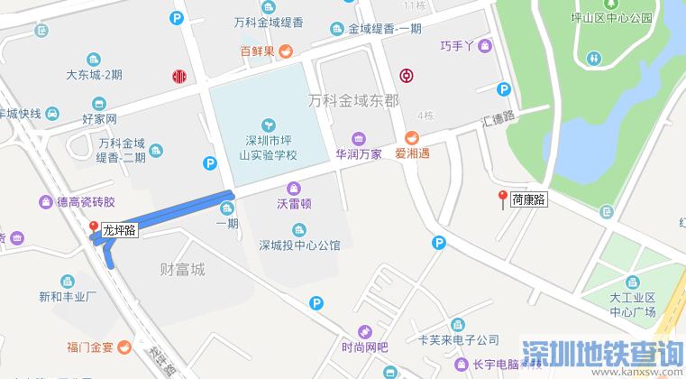 深圳坪山兰竹西路(B段)近日完工正式通车 坪山中心区交通将更加便捷