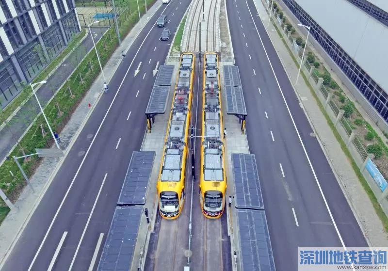 上海松江有轨电车2期5月29日起不载客试运行