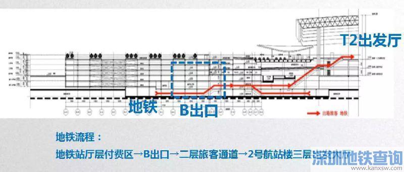 2019去广州白云机场t2航站楼在哪个地铁站下?