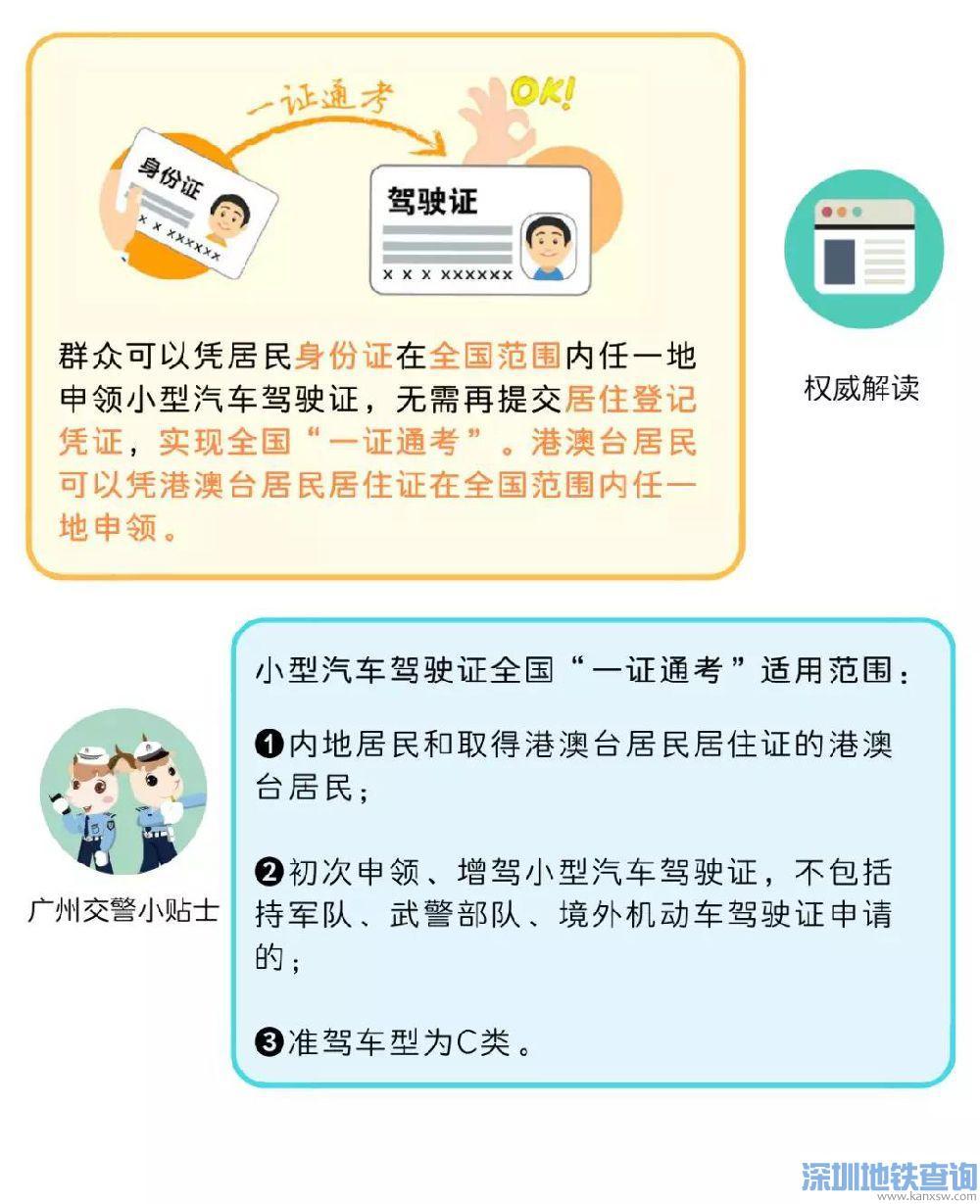 2019驾考新规广州交警权威解读 广州将兑现全部改革新措施