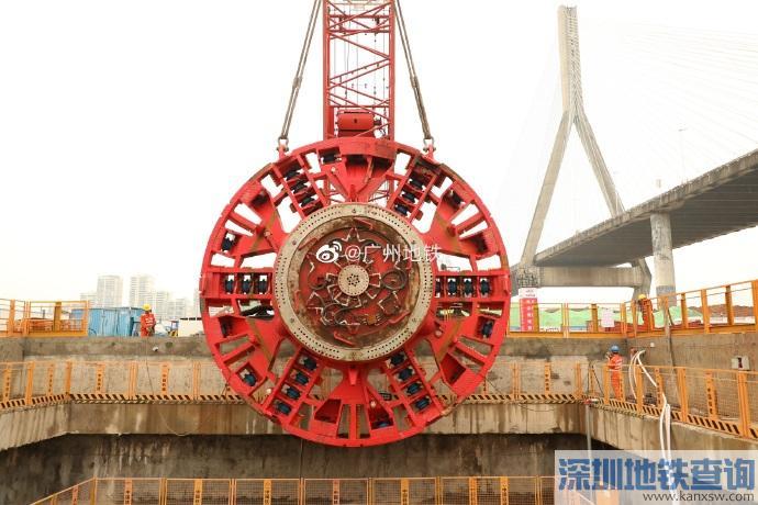 2019年5月广州地铁18号线最新进展 土建完成24%