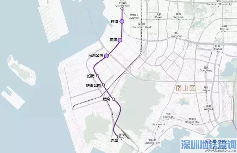 深圳地铁5号线南延线正式启动试运行 今年9月底开通运营